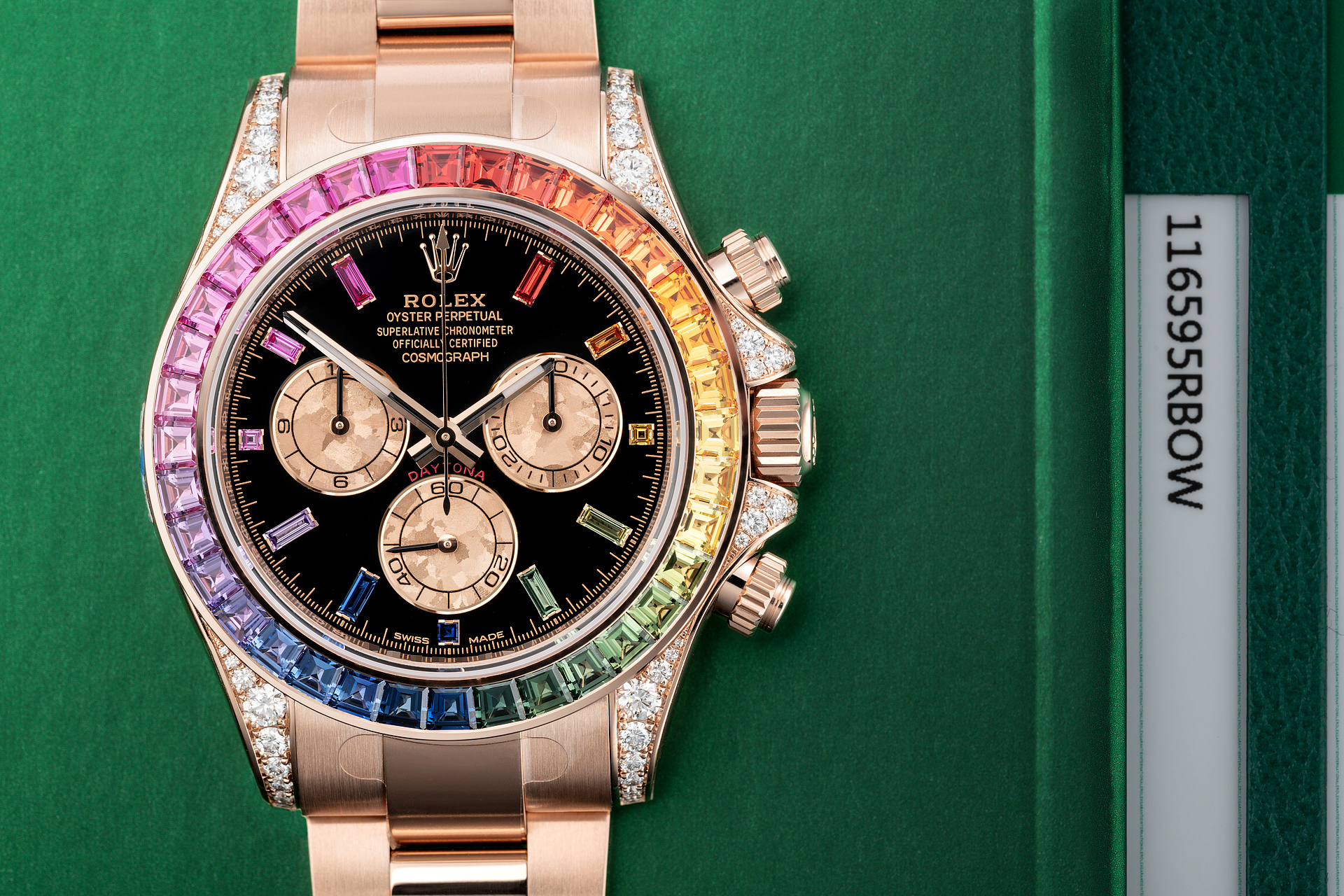 Rolex Prices Uk >> Rolex Cosmograph Daytona Watches | ref 116595RBOW | Brand New 'Very Rare' | The Watch Club