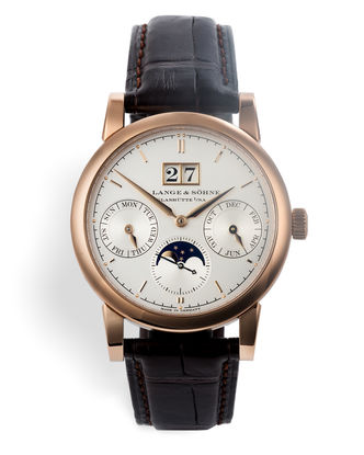ref 330.032E | 38.5mm 18ct Rose Gold | A. Lange & Söhne Saxonia Annual Calendar