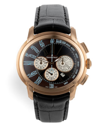 ref 26145OR.OO.D095CR.01 | 'Rose Gold' AP Service History | Audemars Piguet Millenary Chronograph