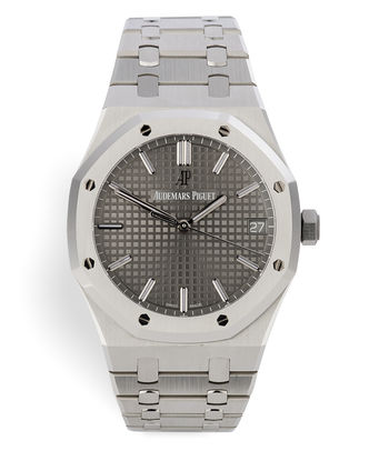 ref 15500ST.OO.1220ST.02 | Brand New 'Grey Dial' | Audemars Piguet Royal Oak
