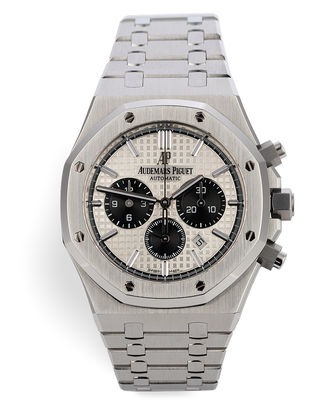 ref 26331ST.OO.1220ST.03 | New Model Full Set 'Panda' | Audemars Piguet Royal Oak Chronograph
