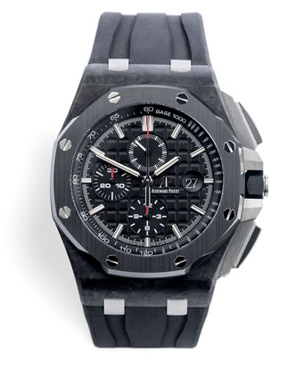 ref 26400AU.OO.A002CA.01 | 'Forged Carbon' AP Service History | Audemars Piguet Royal Oak Offshore