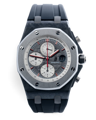 ref 26202AU.OO.D002CA.01 | Limited Edition 'Forged Carbon' | Audemars Piguet Royal Oak Offshore