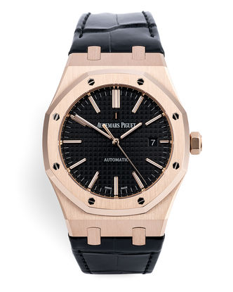 ref 15400OR.OO.D002CR.01 | Rose Gold 'Full Set' | Audemars Piguet Royal Oak