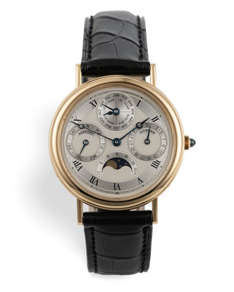 ref 3050BA | 18ct Yellow Gold 'Full Set' | Breguet Classique Perpetual Calendar