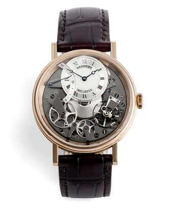 ref 7097BRG19WU | Rose Gold Retrograde | Breguet La Tradition