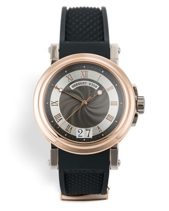 ref 5817BE/Z2/5VB | 39mm Rose & White Gold | Breguet Marine