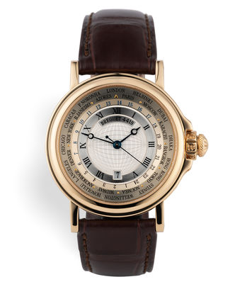 ref 3700BA | Yellow Gold World Time | Breguet Marine World Time