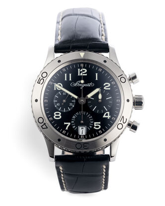 ref 3820ST/H2/9W6 | Chronograph Box & Papers | Breguet Type XX