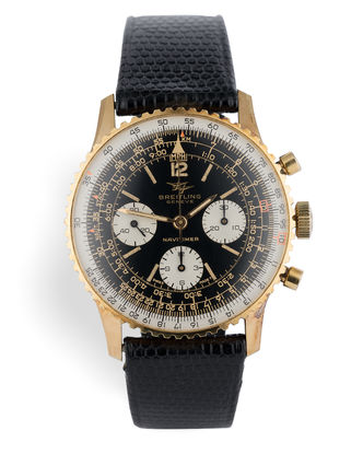 ref 806 | Gold Capped 'All Original' | Breitling Navitimer