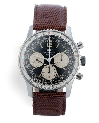 ref 806 | 'Twin Planes' Never Polished | Breitling Navitimer