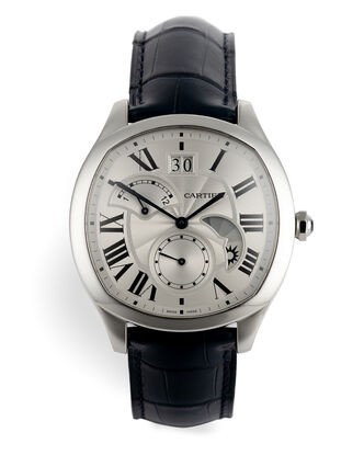 ref WSNM0005 | Retrograde Second Time Zone | Cartier Drive De Cartier