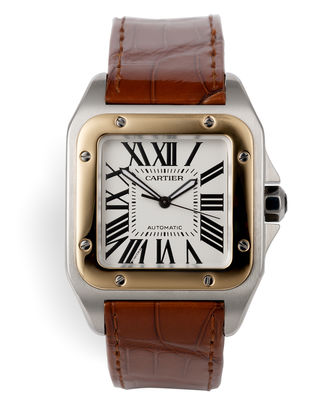 Gold & Steel XL | ref W20072X7 | Cartier Santos 100