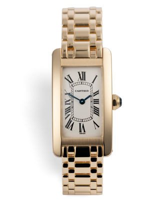 ref 1710 | 18ct Yellow Gold | Cartier Tank Américaine