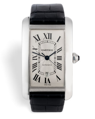 ref 2928 | 18ct White Gold  | Cartier Tank Americaine XL