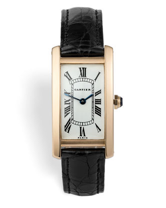 | Yellow Gold 'Paris Dial' | Cartier Tank Cintrée