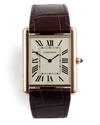 ref CRW1560017 | Rose Gold 'Mechanical'  | Cartier Tank Louis