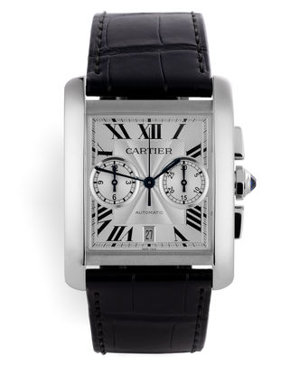 Cartier International Warranty | ref W5330007 | Cartier Tank MC Chronograph