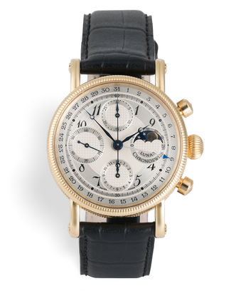 ref CH 7521 | Yellow Gold 'Moonphase' | Chronoswiss Lunar Chronograph