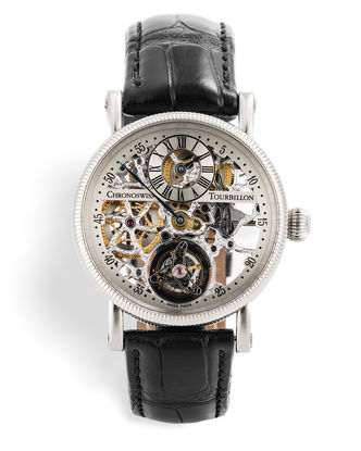 ref CH 3121 W | White Gold 'Chronoswiss Warranty' | Chronoswiss Régulateur à Tourbillon