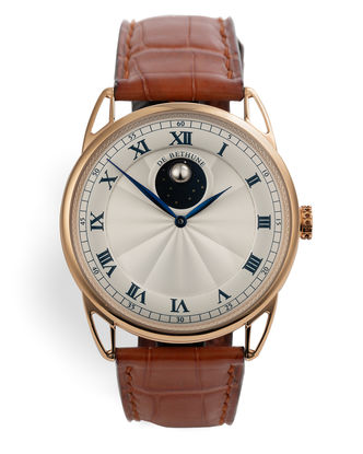 ref DB25L | 18ct Rose Gold 'Unique Hands' | De Bethune Moonphase