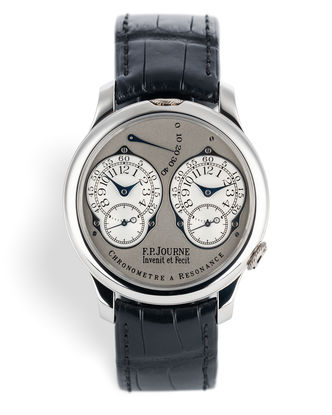 | Platinum 'Complete Set' | F. P. Journe Chronomètre à Résonance