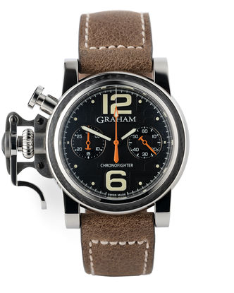 41mm Pilots Chronograph | ref 2CFCS.B18A.K25B | Graham Chronofighter