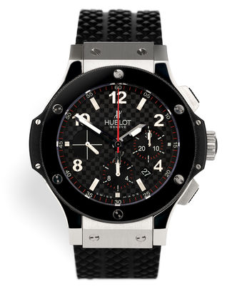 ref 301.SB.131.RX | Steel & Ceramic 'Full Set' | Hublot Big Bang