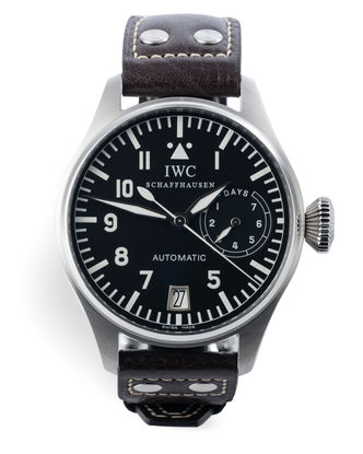 ref 5002 | Fish Crown 'Serviced by IWC' | IWC Big Pilot