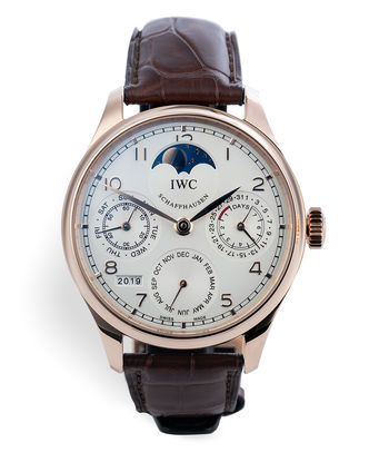 ref IW502306 | Rose Gold 'Under IWC Warranty' | IWC Perpetual Calendar
