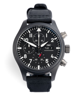 ref IW389101 | 44.5mm Ceramic Case | IWC Pilot's Chronograph