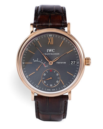 ref IW510104 | Rose Gold 'Power Reserve' | IWC Portofino