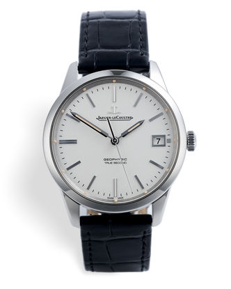 ref Q8018420 | 'Jumping Dead-Seconds' | Jaeger-leCoultre Geophysic True Second