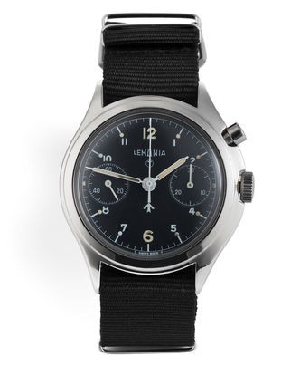 ref 6B/551 | Single Button Chronograph | Lemania Military