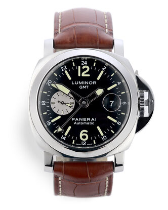 ref PAM 088 | Box & Papers | Panerai Luminor GMT