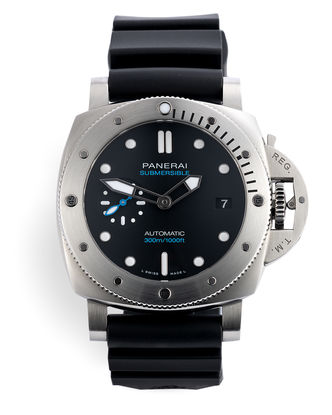 ref PAM00973 | New 42mm Model 'Warranty to 2027' | Panerai Luminor Submersible