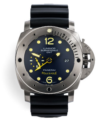 ref PAM00719 | Limited Edition 'Mike Horn' | Panerai Pole to Pole Submersible GMT