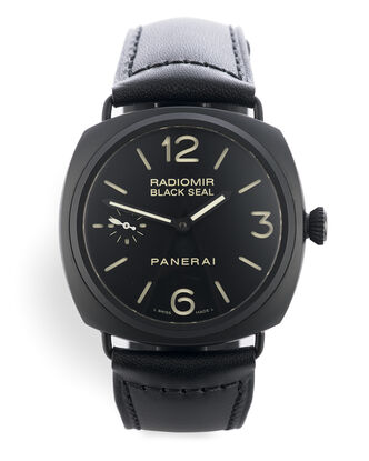 ref PAM00292 | 'Ceramic' Box & Papers | Panerai Radiomir Black Seal