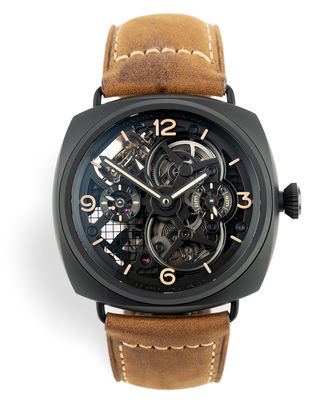 Skeleton Tourbillon GMT | ref PAM00350 | Panerai Radiomir