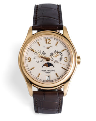 ref 5146J-001 | 18ct Yellow Gold 'Complete Set' | Patek Philippe Annual Calendar