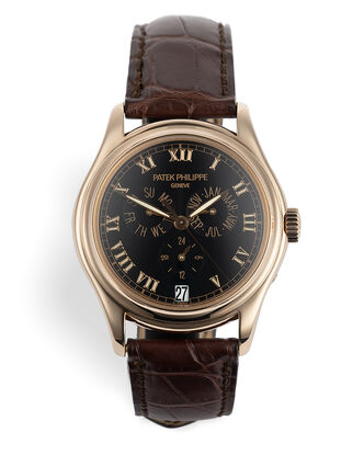 ref 5035R | Gentleman's Rose Gold 37mm  | Patek Philippe Annual Calendar