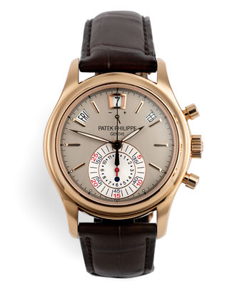 ref 5960R-001 | Full Set 'Rose Gold' | Patek Philippe Annual Calendar Chronograph