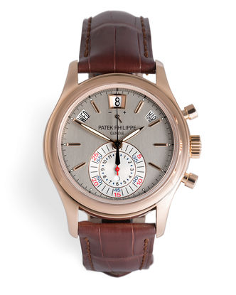 ref 5960R-001 | Rose Gold 'UK Supplied' | Patek Philippe Annual Calendar Chronograph
