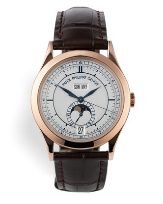 ref 5396R-001 | Rose Gold 'Complete Set' | Patek Philippe Annual Calendar