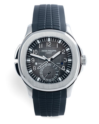 ref 5164A-001 | 'Under Patek Philippe Warranty'  | Patek Philippe Aquanaut Travel Time