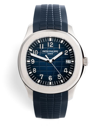 ref 5168G-001 | 'White Gold 42mm Jumbo' | Patek Philippe Aquanaut
