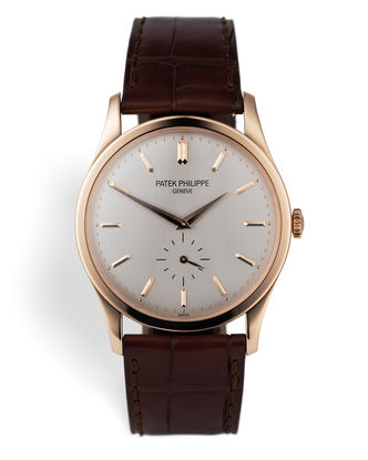 ref 5196R-001 | 18ct Rose Gold 'Full Set' | Patek Philippe Calatrava