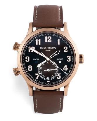 'Under Patek Warranty' | ref 5524R-001 | Patek Philippe Calatrava Pilot Travel Time