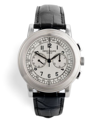 ref 5070G-001 | White Gold 'Complete Set' | Patek Philippe Chronograph