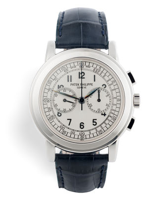 ref 5070G | White Gold 'Complete Set' | Patek Philippe Chronograph